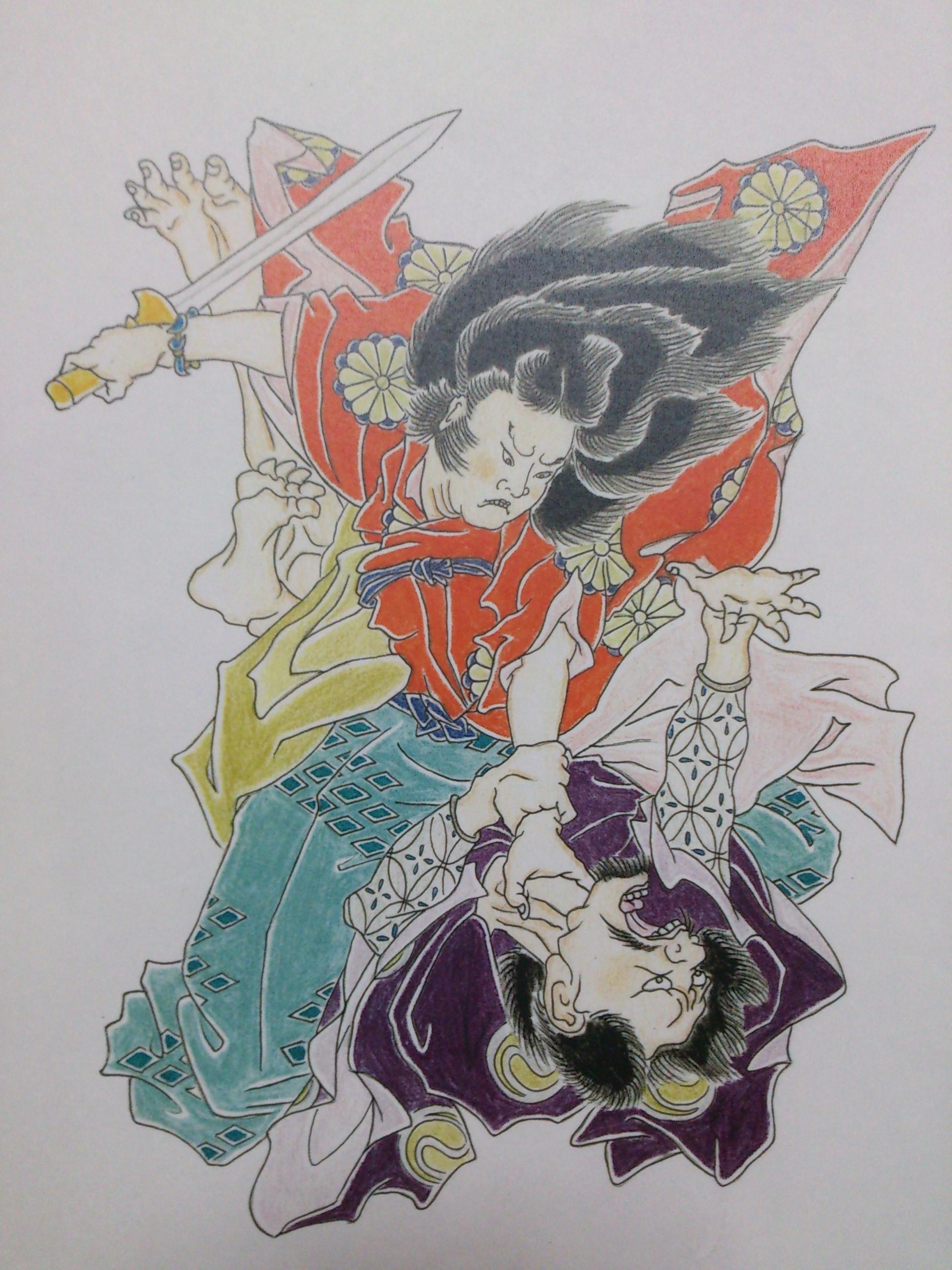 日本武尊 タトゥー