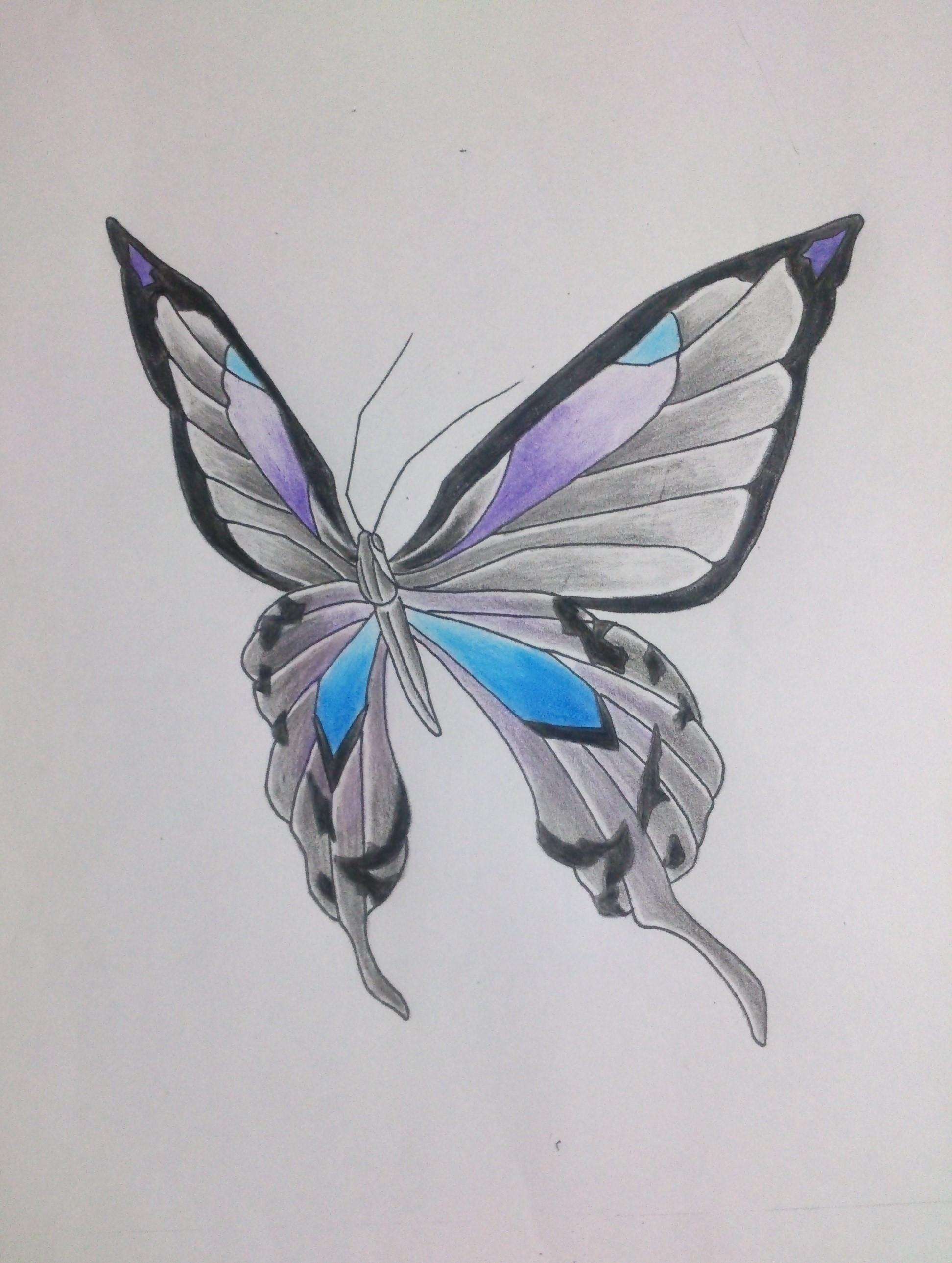 蝶 タトゥー